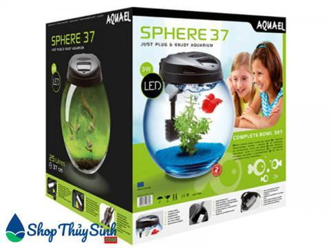 Bể cá mini tròn nhập khẩu Aquael Bowl Sphere Aquarium