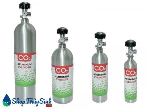 Bình co2 nhôm cho hồ thủy sinh Rio CO2 Aluminum Cylinder