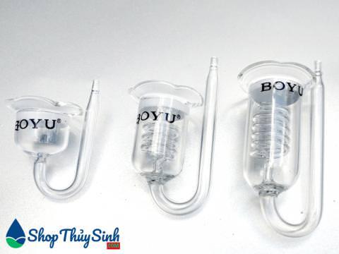 Bộ cốc sủi co2 của Boyu với ba kích thước khác nhau