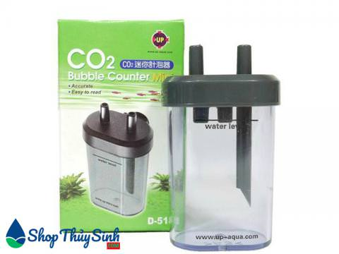 Bộ đếm giọt co2 của Up-Aqua Co2 bubble counter mini