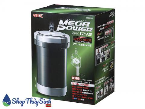 Bộ sản phẩm máy lọc nước cho hồ cá và thủy sinh Gex Mega Power