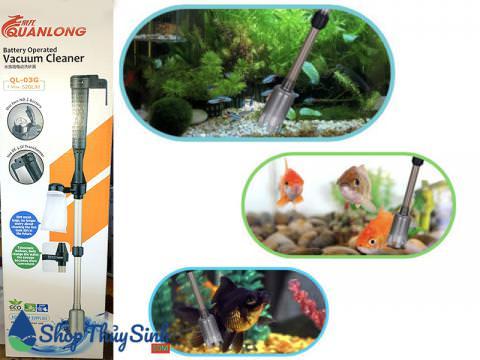 Bơm thay nước và loại bỏ phân cá QuanLong QL-03G
