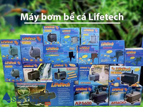Các dòng máy bơm bể cá của Lifetech