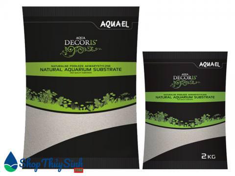 Cát trắng cao cấp Aquael Quartz Sand loại 2kg và 10kg