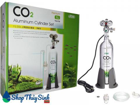 Combo bình co2 và các phụ kiện Ista Professional CO2 Supply Set 1 L