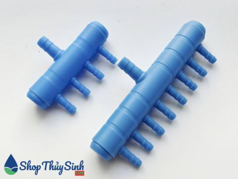 Đầu chi cổng oxy loại 4 và 8 cổng bằng nhựa