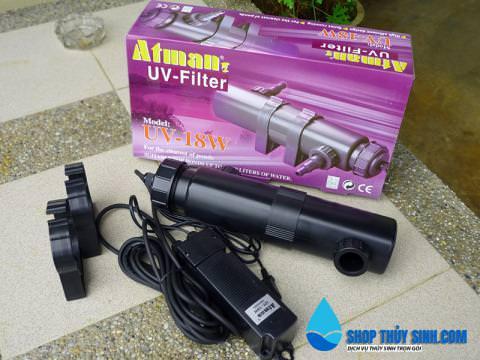 Đèn UV Diệt Khuẩn cho hồ cá và thủy sinh Atman UV LAMP