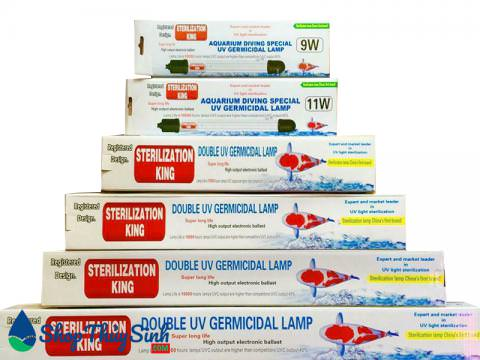 Đèn UV Diệt vi khuẩn hại và các loại rêu, tảo có hại Sterilization King