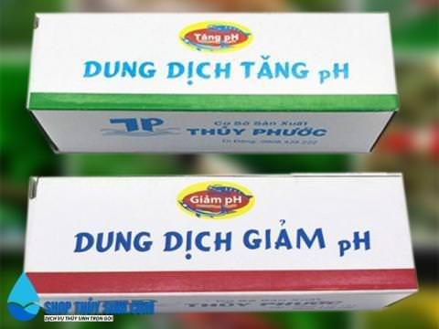 Dung dịch tăng giảm PH của nước sản phẩm của Thủy Phước