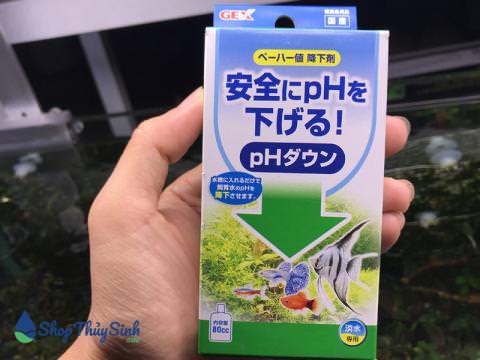 Gex Ph Down dung dịch giúp giảm Ph trong nước