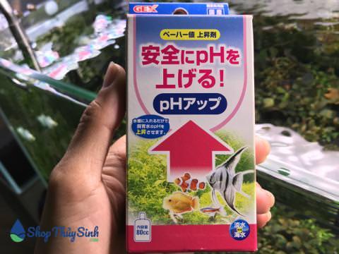 Gex PH Up dung dịch tăng Ph trong nước