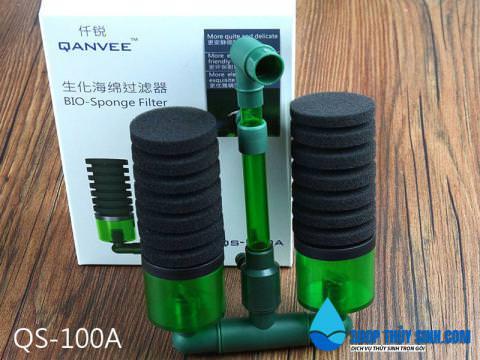 Lọc Bio QanVee QS-100A loại lọc bông cao cấp