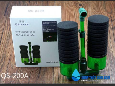 Lọc Bông Bio QanVee QS-200A loại lọc vi sinh cao cấp