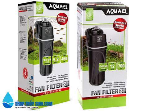 Lọc cho hồ cá Aquael FAN Filter 2 Plus và 3 Plus