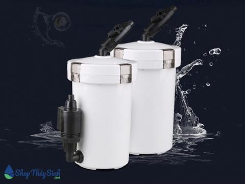 Sunsun 604 và 604B mẫu lọc phụ chuyên dụng cho hồ cá và thủy sinh