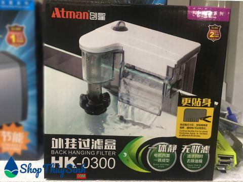 Lọc thác cho bể cá mini Atman Hk-0300