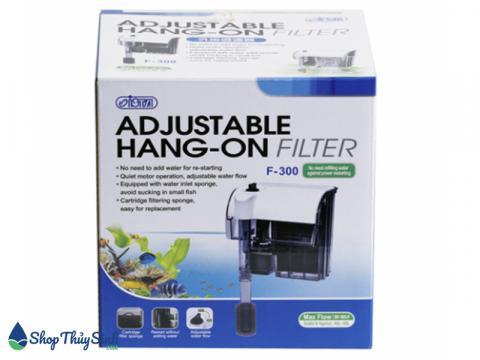 Lọc thác Ista Adjustable Hang-On Filter chuyên dụng cho bể cá mini
