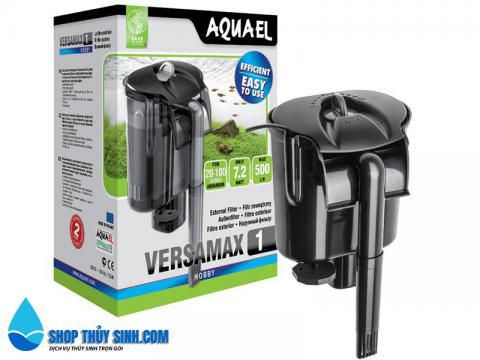 Lọc thác mini Aquael VersaMax 1 thích hợp cho hồ 40l trở về