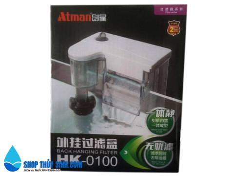 Lọc thác mini Atman HK-0100 dành cho bể cá mini