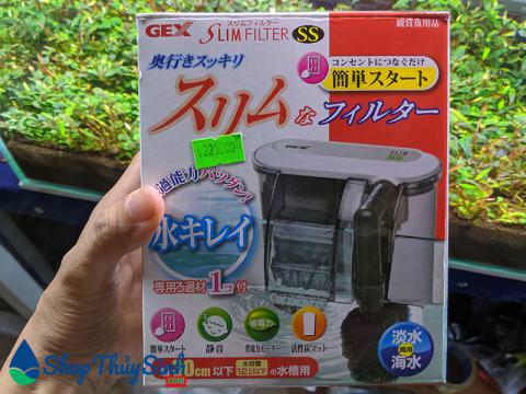 Lọc thác mini Gex Slim Filter Size SS
