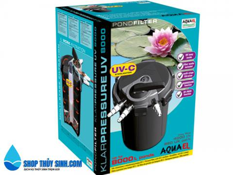 Lọc thùng cho hồ cá Koi Aquael Klar Pressure 8000