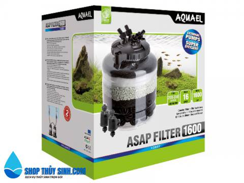 Lọc thùng cho hồ thủy sinh Aquael ASAP Filter 1600