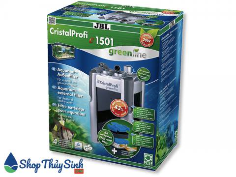 Lọc thùng cho hồ thủy sinh JBL CristalProfi e1501 Greenline