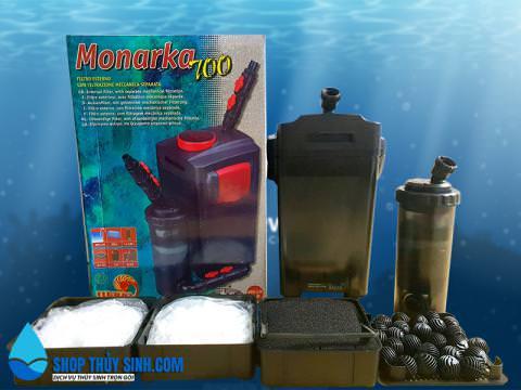 Lọc thùng Monarka 700 lọc ngoài cao cấp cho hồ thủy sinh