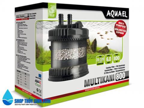 Lọc thùng ngoài Aquael Multi Kani Filter 800 hàng nhập khẩu
