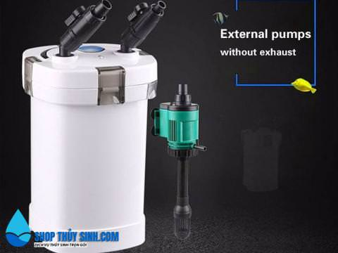 Lọc thùng SunSun HW-504B kèm UV diệt khuẩn