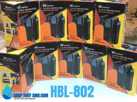 Lọc treo sunsun HBL-802 chuyên dụng cho hồ thủy sinh