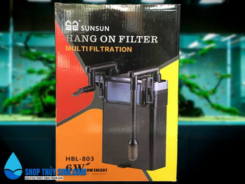 Lọc treo Sunsun HBL-803 loại lọc ngoài cao cấp cho hồ thủy sinh