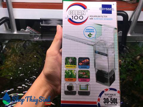 Lọc váng Odyssea Clean 100 lọc bề mặt hồ thủy sinh cao cấp