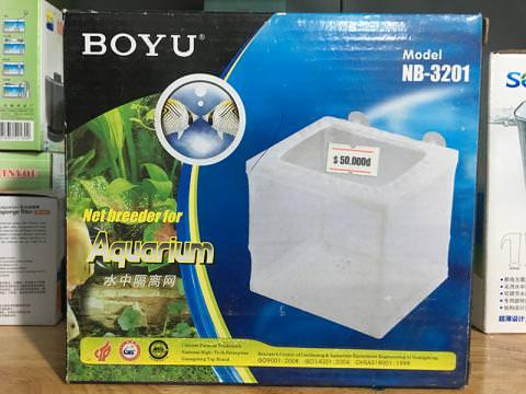Lồng dưỡng cá bằng lưới cao cấp BOYOU NB-3201
