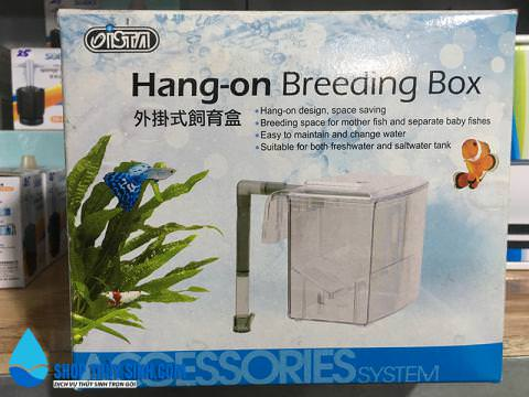 Lồng dưỡng cá và tép mới Hang-on breeding box