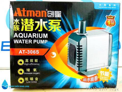 Máy bơm bể cá cảnh Atman 306s thế hệ mới