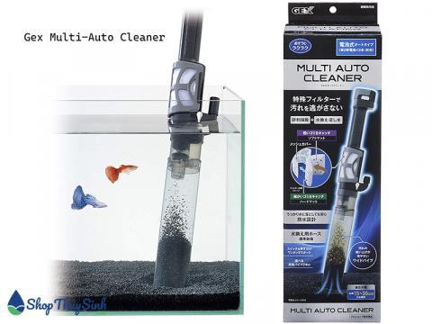 Máy hút cặn hồ cá Gex Multi-Auto Cleaner 2 trong 1
