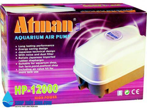 Máy sủi khí oxy cao cấp Atman HP-12000