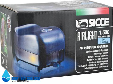 Máy sủi oxy cao cấp Sicce Airlight Air Pump 1.5