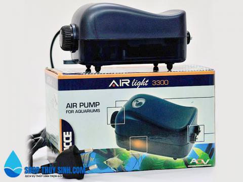 Máy sủi oxy cho bể cá  Sicce Airlight Air Pump 3300
