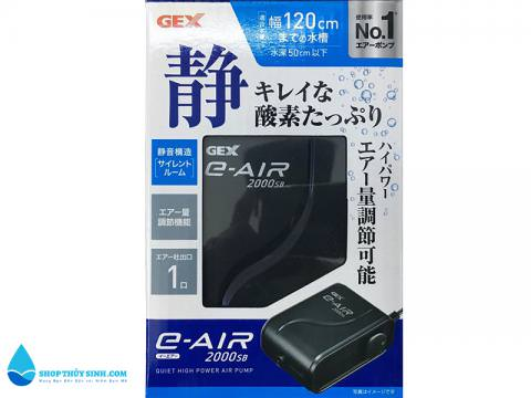 Máy sủi Oxy gex 2000sb xuất xứ Nhật Bản