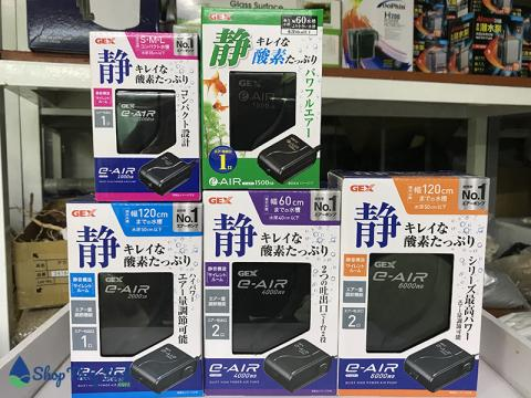Máy sủi oxy Gex siêu êm một thương hiệu đến từ Nhật Bản