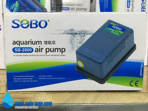 Máy sủi oxy mini 1 vòi Sobo SB-2800