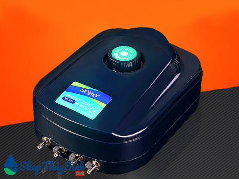 Máy sủi oxy Sobo SB-988 hỗ trợ 4 vòi
