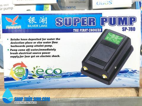 Máy sủi oxy Super Pump SP-780 loại 2 vòi