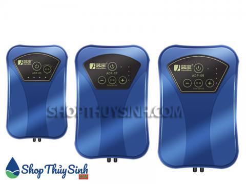 Máy sủi oxy tích điện Aquablue nhiều công suất khác nhau