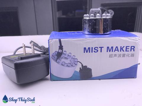 Máy tạo khói mini loại có đèn và không đèn Mist Maker