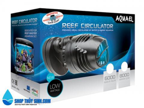 Máy thổi tạo luồng cho hồ cá biển Aquael Reef Circulator 6000