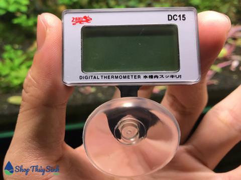 Nhiệt kế điện tử Ista đo nhiệt độ hồ cá và thủy sinh
