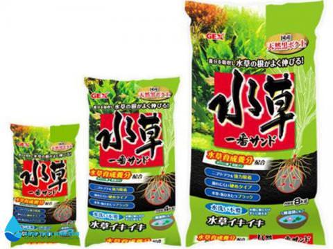 Phân nền Gex Xanh là loại đất nền trồng cây thủy sinh cao cấp
